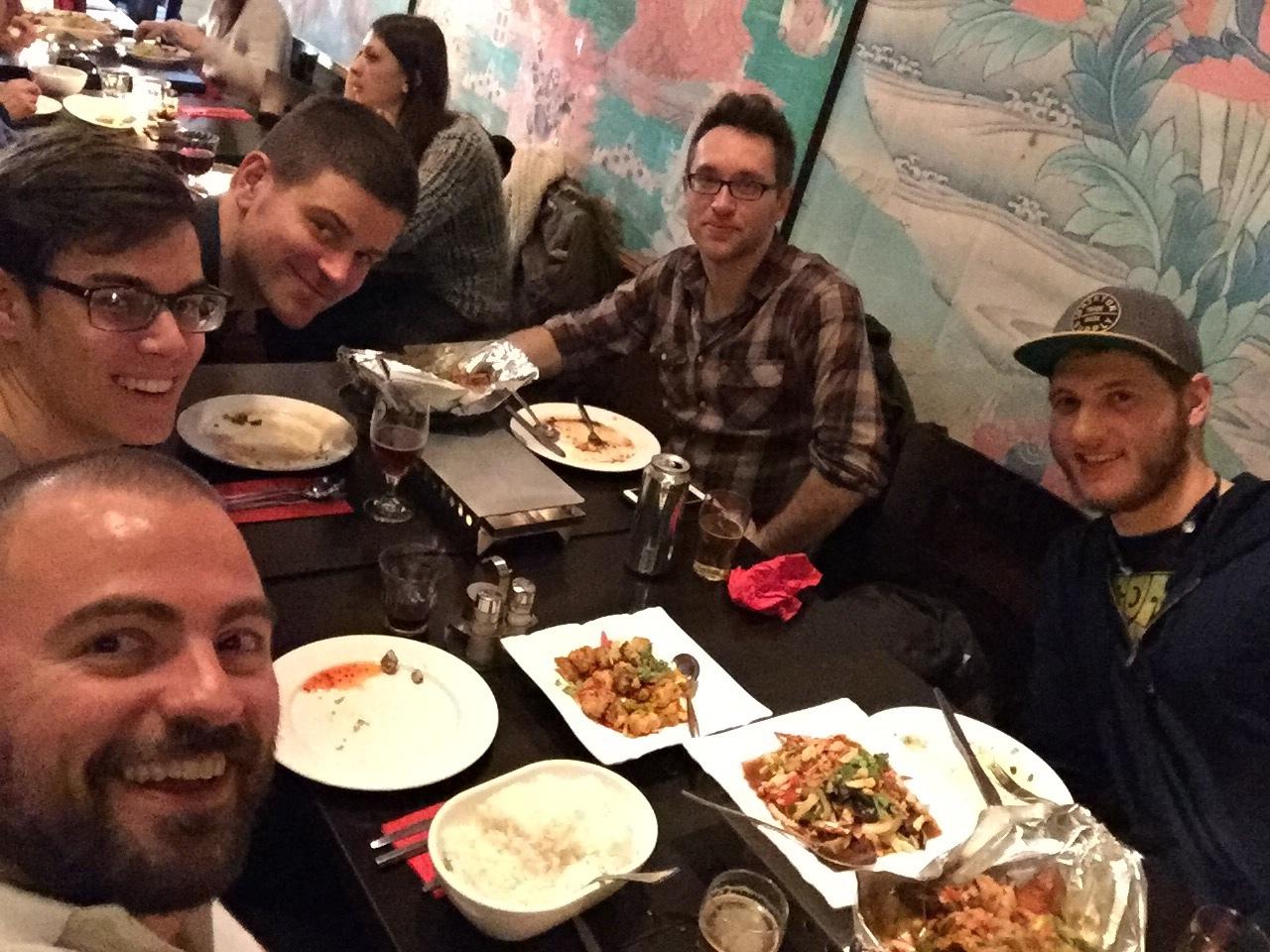 Dinner at Tibet