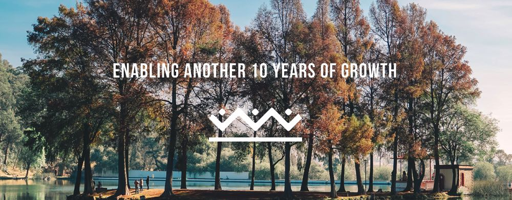Enabling another 10 years of growth