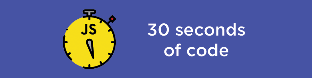 30 seconds of code