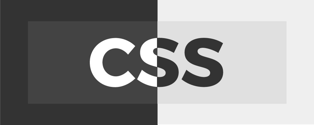 Dark mode on a website with CSS