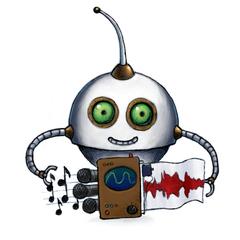 Our /audio/waveform Robot