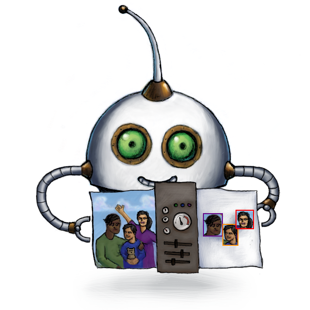 Our /image/facedetect Robot
