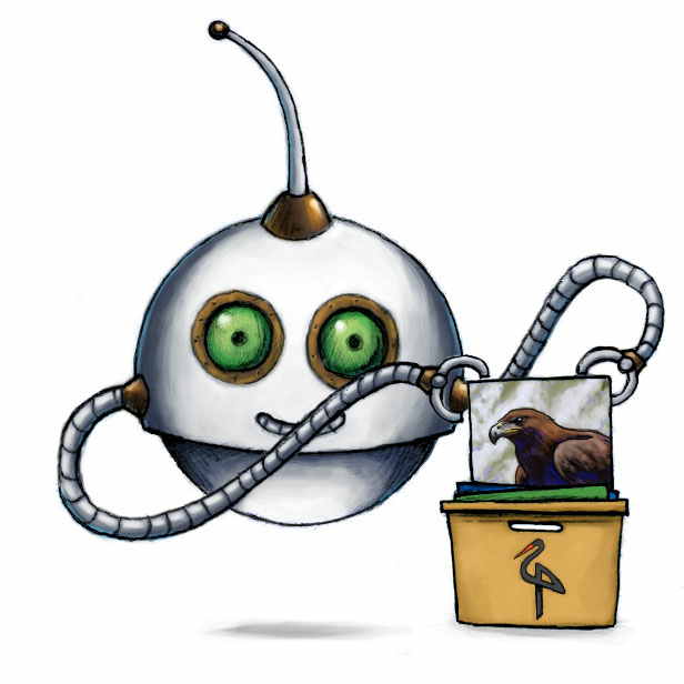 Our /minio/store Robot