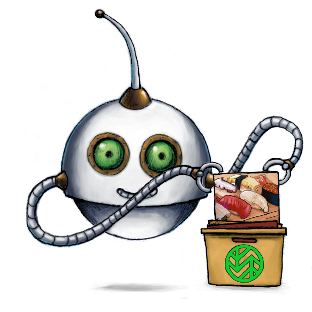 Our /wasabi/store Robot